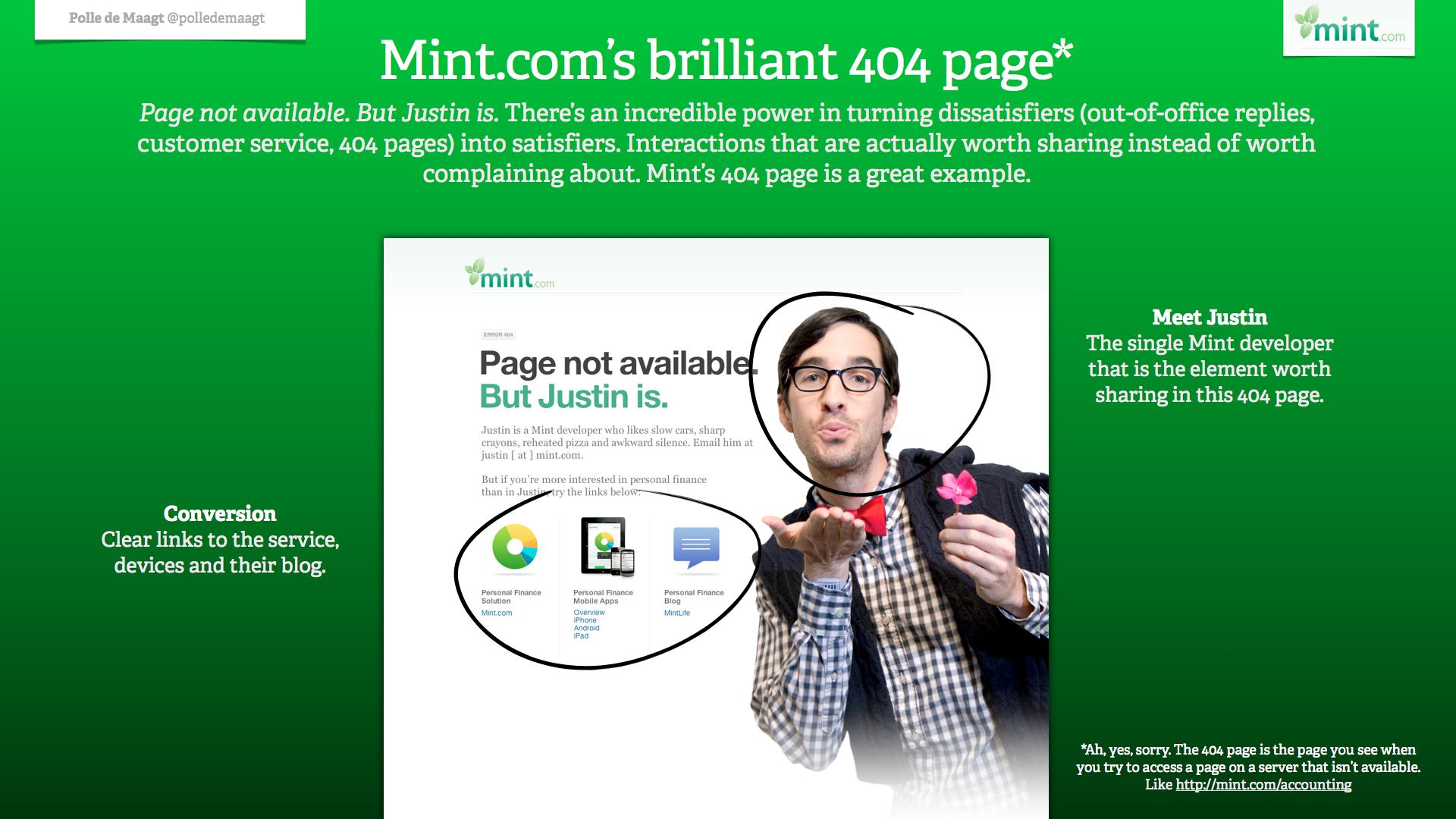Mint.com 404