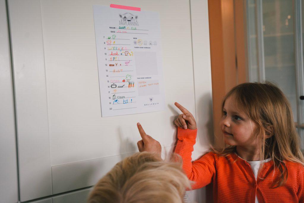 Kids day planning