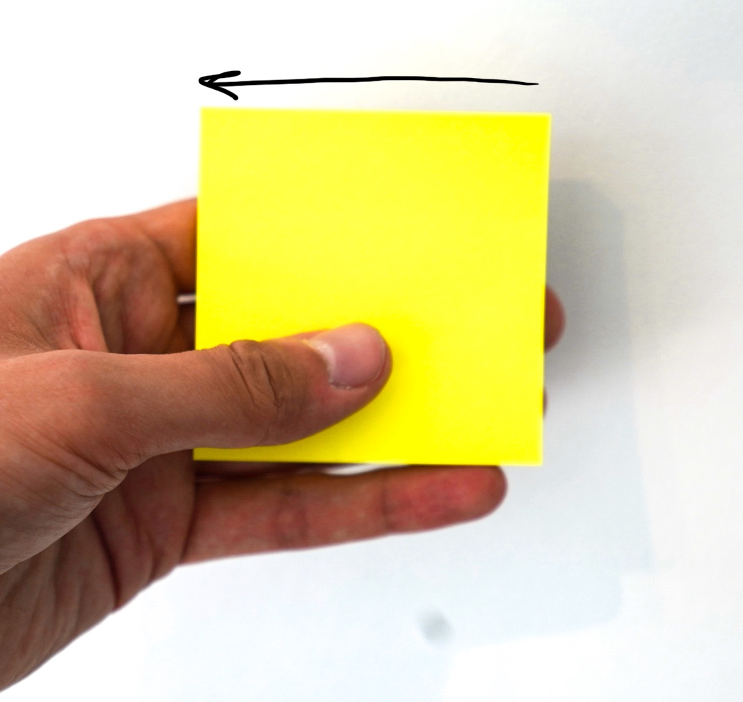 Doing it right - post-its