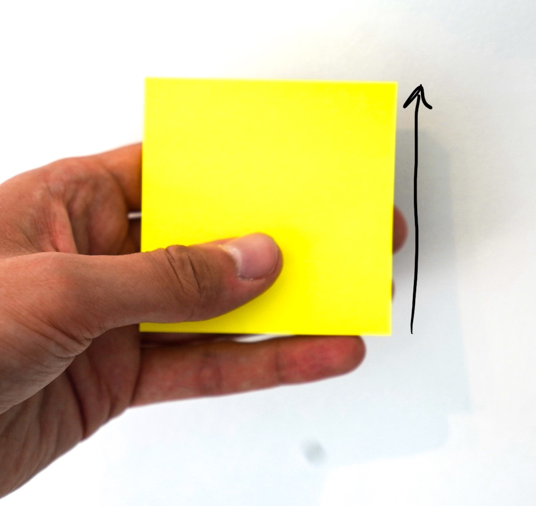 Doing it wrong - post-its