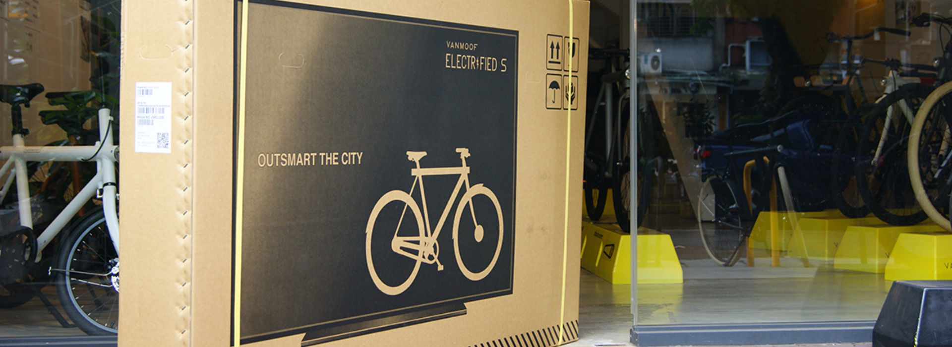 Van Moof is shipping bikes as TV's