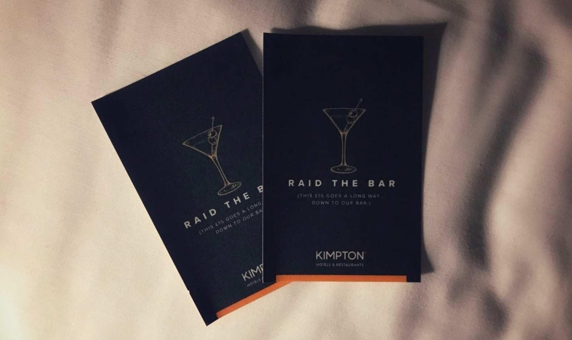 Kimpton Raid the bar