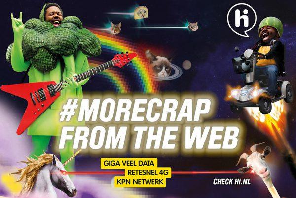 Hi #morecrap