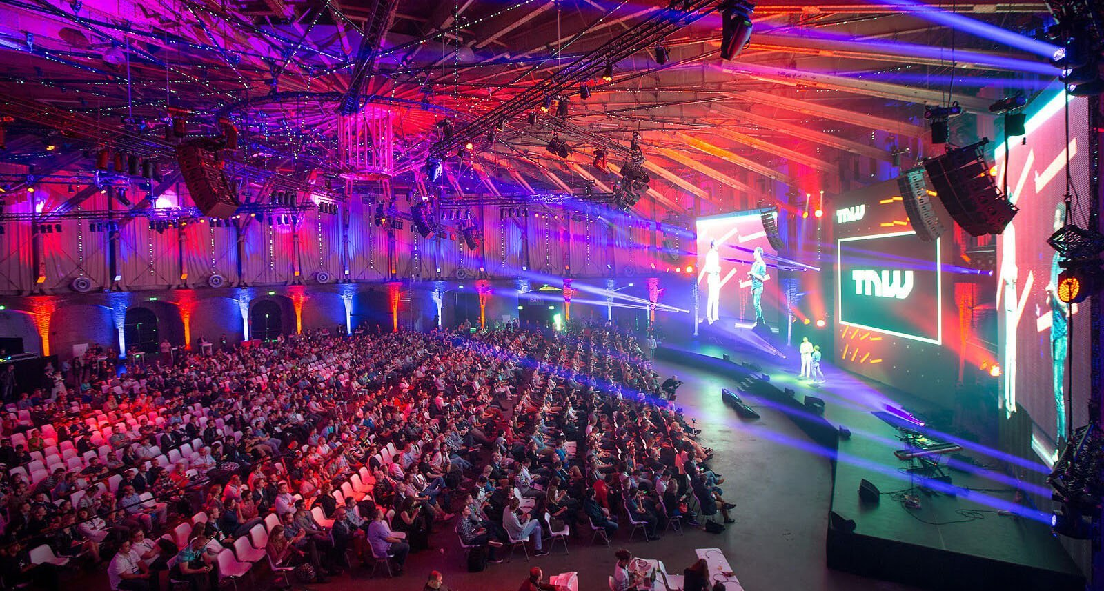 TNW conference in Amsterdam