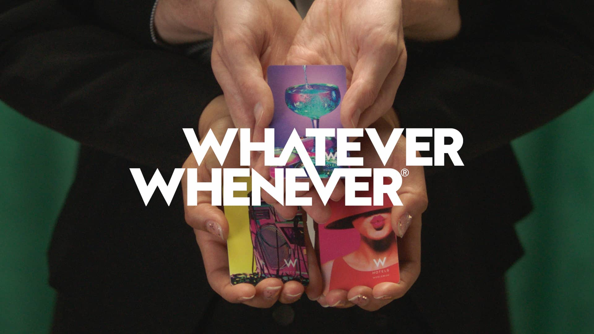 Whatever Whenever Service by W
